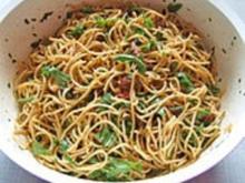 Spaghetti Salat - Rezept