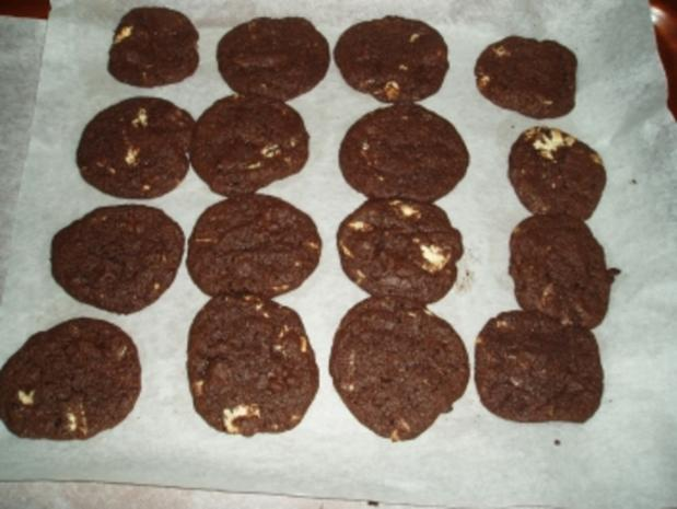 Schwarz - Weiß Cookies - Rezept - Bild Nr. 3