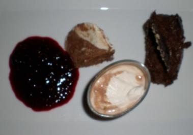 Schokoladenparfait, Mousse und Karibische Schokolade - Rezept