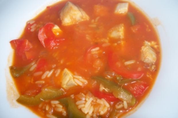 Mediterane Fischsuppe - Rezept