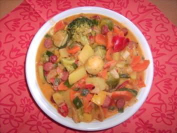 Bunter Gemüsetopf - Rezept