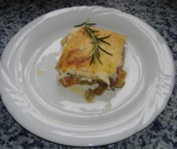 Griechischer Kartoffel-Auberginenauflauf - Rezept