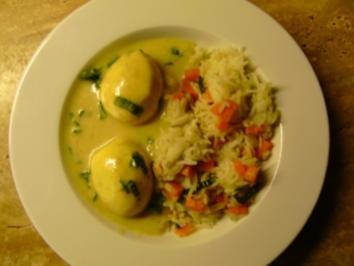 Eier in Bärlauchsoße - Rezept - Bild Nr. 2