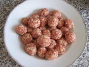 Meatballs mit Spaghetti - Rezept