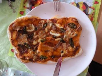 Andy´s Handmade Pizza Margherita - Rezept