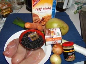 """Ein Kochexperiment: Das original äthiopische """"Injera"""" mit zweierlei """"Wot"""" - Rezept"""