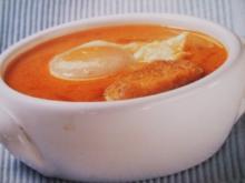 Knoblauchsuppe  - Sopas de ajo - Rezept