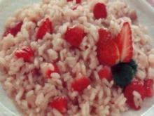 erster gang erdbeerrisotto - Rezept