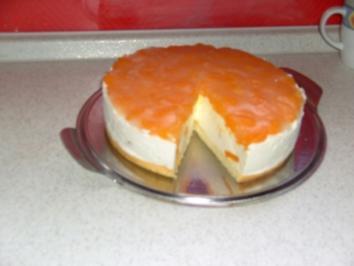 Mandarinenquark Sahnetorte - Rezept