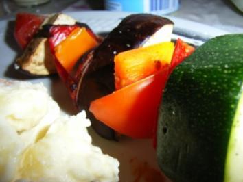 "Grillspieß ""Europas Gemüsegarten"" - Rezept"