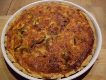 Rezept: Zucchini-Tomaten-Quiche