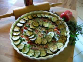 tarte provencale - Rezept
