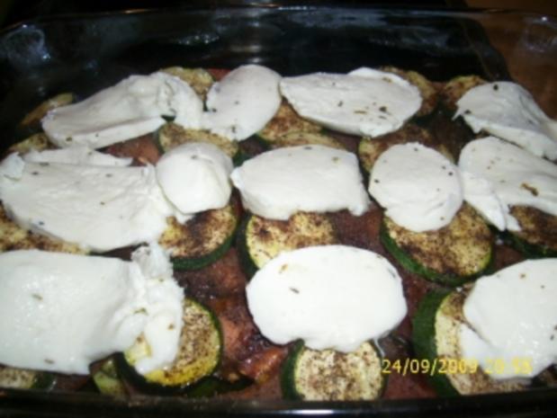 Zucchini-Tomaten-Auflauf - Rezept