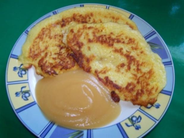 Kartoffelpfannkuchen ( Reibekuchen) - Rezept
