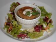 Tafelspitzsülze mit Himbeervinaigrette an mariniertem Salat - Rezept