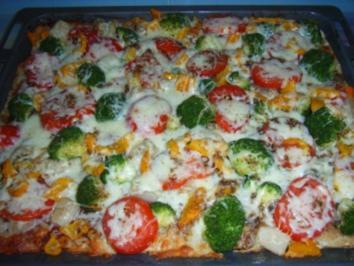 "Pizza ""Mach-mal-Zwei"" - Rezept"
