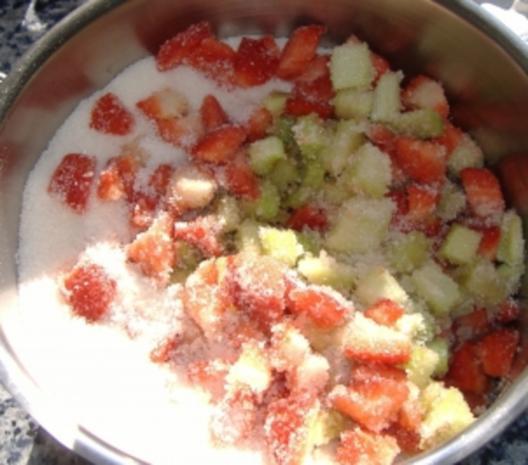 Rhabarber-Erdbeer-Marmelade - Rezept - Bild Nr. 3
