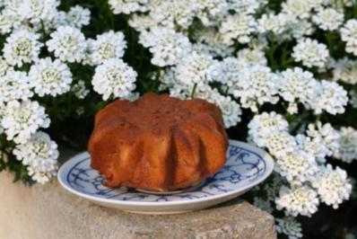 Rezept: Kleiner Cranberrie Kuchen