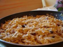 Fränkische Sauerkraut-Spätzle-Pfanne - Rezept