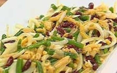 Bohnensalat - Rezept