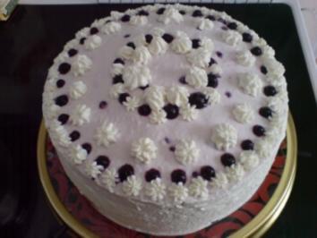 Blaubeer-Quark-Torte - Rezept