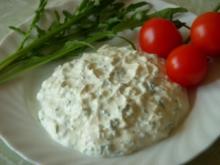 Schafkäse-Aufstrich mit Rucola - Rezept