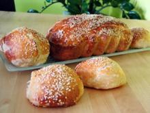 Buttermilch-Vollkornbrot oder Weckerln - Rezept