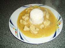 Curry - Gulasch - Rezept