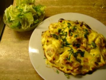 Rezept: Tortelloni/ Hollandaise mit Bärlauch