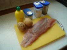 Forelllenfilet in Kartoffelkruste - Rezept