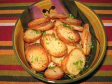 Brot-Chips - Rezept