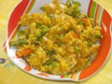a la bombay: gemüsereis mit curry - Rezept