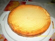 Käse-Kuchen ohne Boden - Rezept