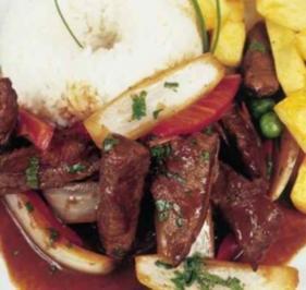 Fleisch: Rindergulasch wie in Peru - Rezept