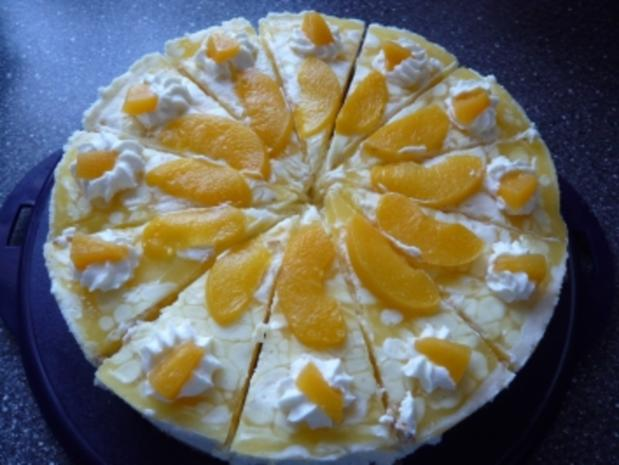 Pfirsich-Philadelphia-Torte - Rezept