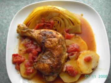 Kenianisches Curryhuhn - Rezept