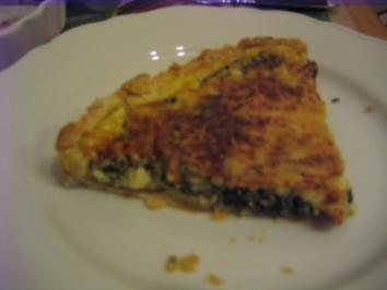 Spinat-Quiche - Rezept