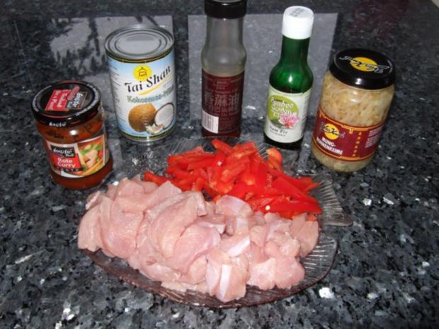 roter Thaicurry - Rezept