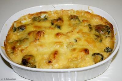 Blumenkohl-Brokkoli-Auflauf - Rezept