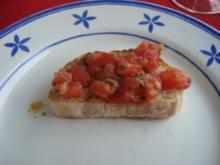 Grillen - Bruschetta vom Grill - Rezept