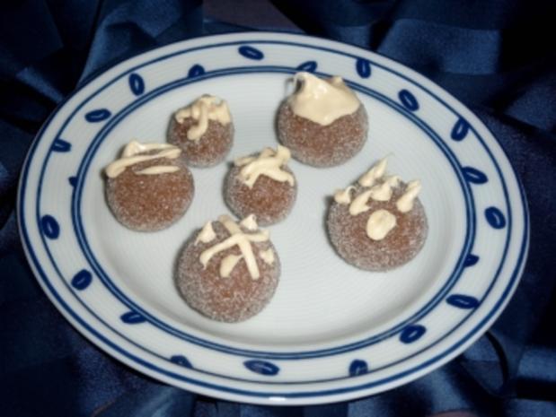 Milka-Marzipan-Kugeln - Rezept