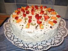 Erdbeer-Schoko-Torte - Rezept