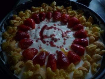Buttermilch ErdbeerTorte - Rezept