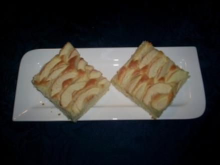 Apfel-Blechkuchen - Rezept