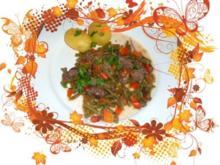 Fleisch : Römische Bohnen mit Rindfleisch - Rezept