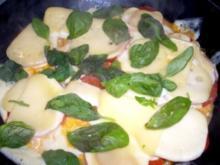Überbackene Tomaten-Für eiligen - Rezept