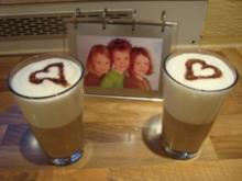 *Drinks ohne Alkohol - Latte für Kids - Rezept