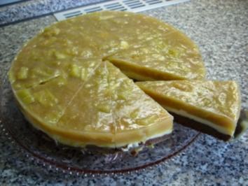 Eierlikör - Rhabarber - Torte - Rezept