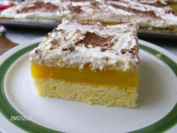 Fruchtiger Blechkuchen - Rezept