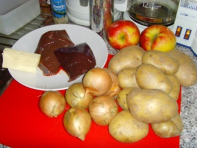 Gebratener Apfel für die Ernährung